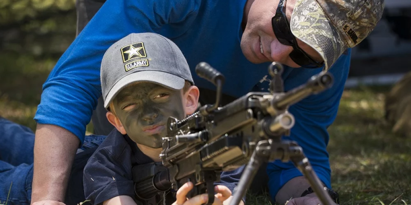 Why A Good Father Prepares His Sons For War