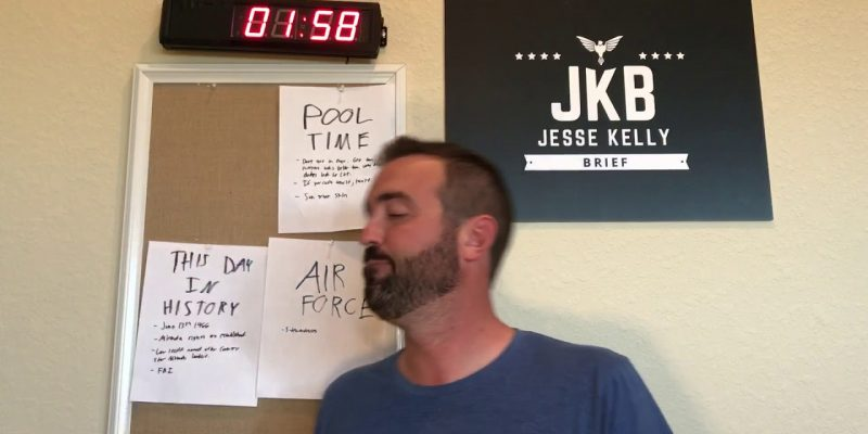 Jesse Kelly Brief: Summer fun, Pool Time, This Day In History, Nicer