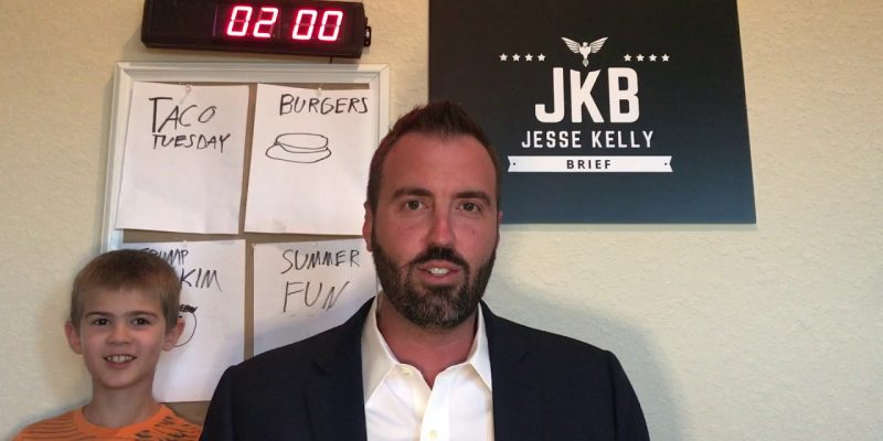 Jesse Kelly Brief: Taco Tuesday, Cheeseburgers, Trump/Kim, Summer Fun
