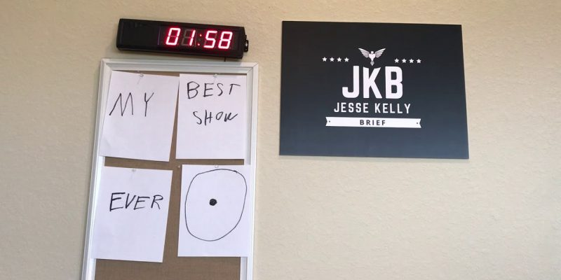 Jesse Kelly Brief: Boom