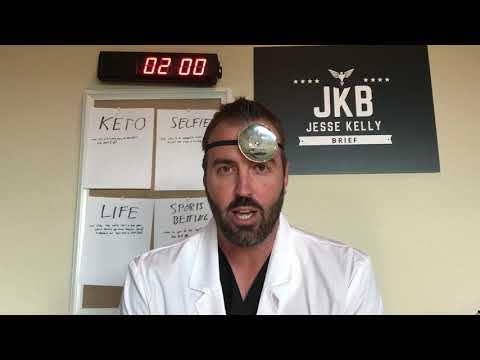 Jesse Kelly Brief: Wife Keto, Selfies, Life Musts, Betting